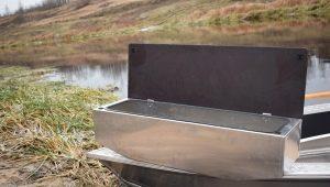 Рундук в лодку: виды и особенности изготовления