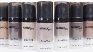Тинт для бровей Manly PRO: обзор и правила использования