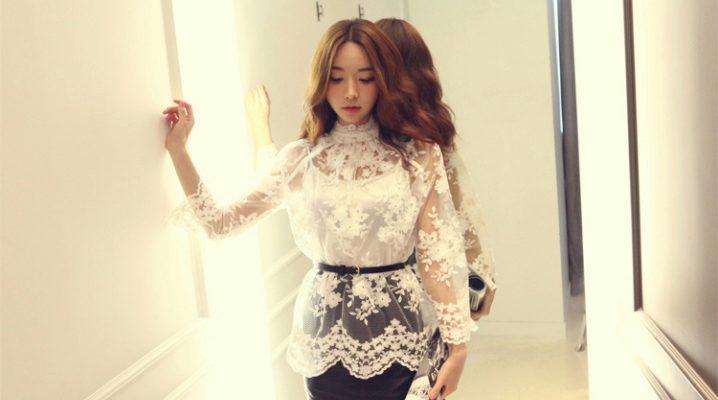 e903a1f63e6 Модели блузок (176 фото)  с длинным рукавом