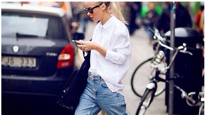 Подвороты на джинсах