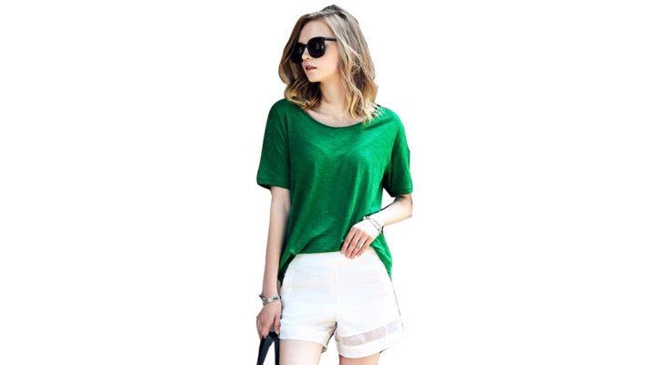 Зеленые футболки