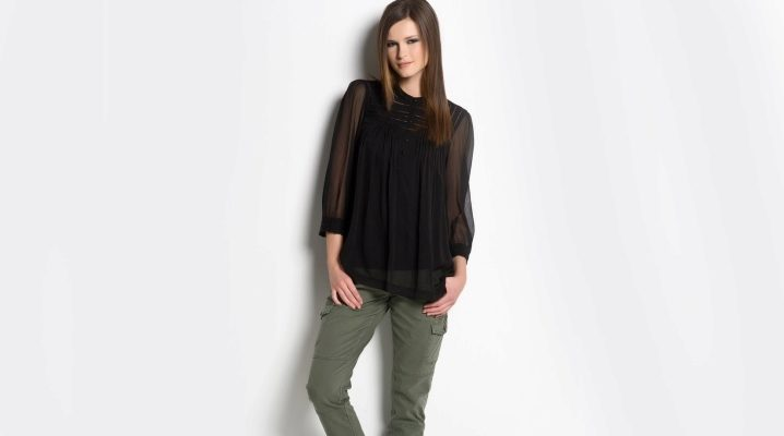 Женские брюки хаки
