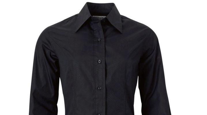 Черная рубашка женская и мужская (148 фото)