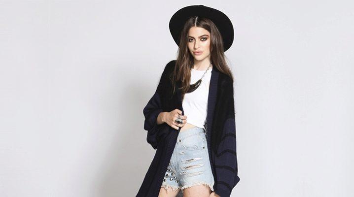 03ed89ec3294 Черный женский кардиган (54 фото): с чем носить, с капюшоном, черно ...