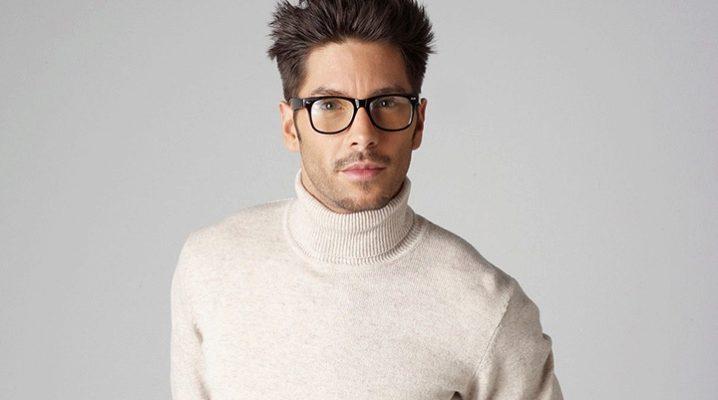 Мужские водолазки - универсальная одежда для мужчин