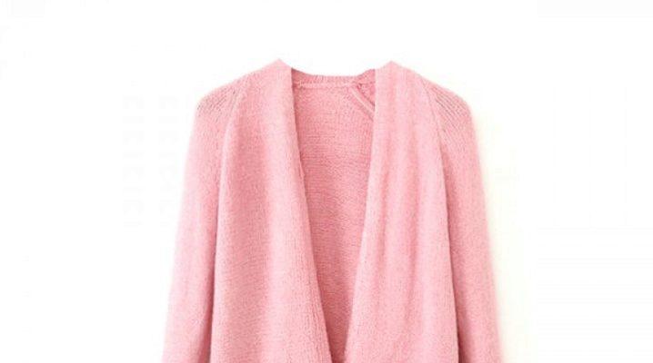 Розовый кардиган: модные образы
