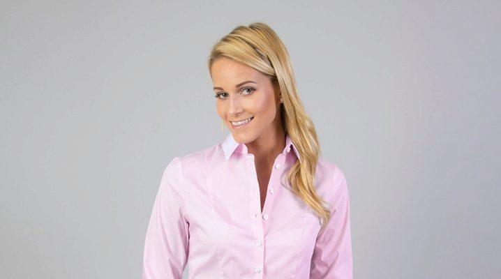 С чем носить розовую рубашку?