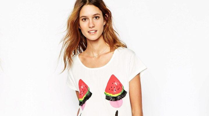 Самые стильные футболки для девушек и женщин