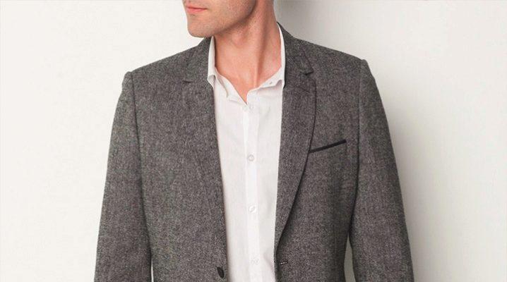Шерстяные пиджаки