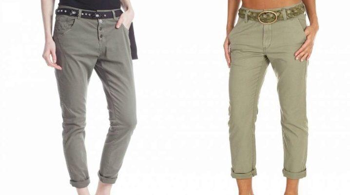 Женские брюки-бойфренды