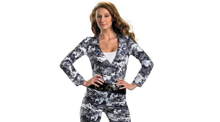 Женские брюки в стиле милитари
