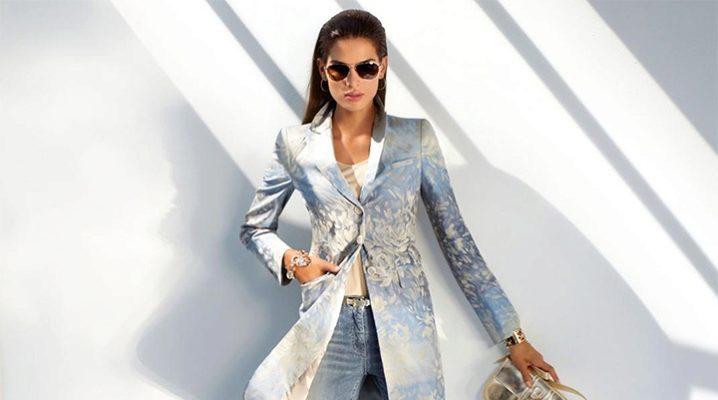 Женские удлиненные пиджаки