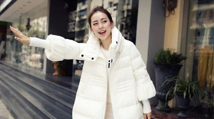 Белые куртки