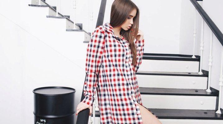 Длинные женские рубашки