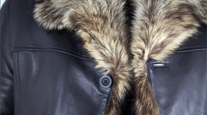 Как выбрать мужской кожаный пуховик?