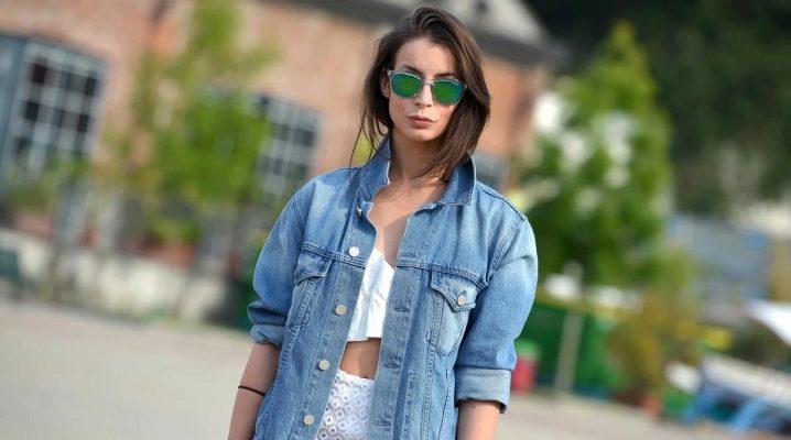 Какие джинсовые куртки в моде 2018 года