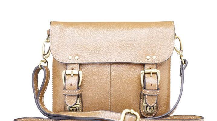 Кожаная сумка через плечо – все, что нужно знать