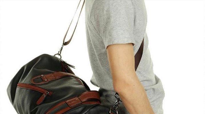 Кожаные спортивные сумки для женщин и мужчин