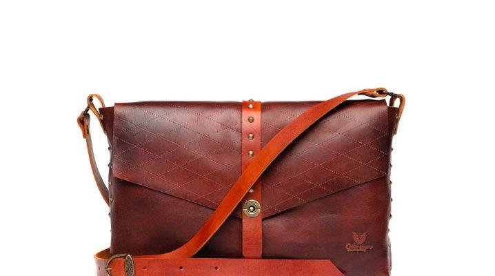 a48e9beb6162 Кожаные сумки через плечо: маленькие, из натуральной и искусственной ...