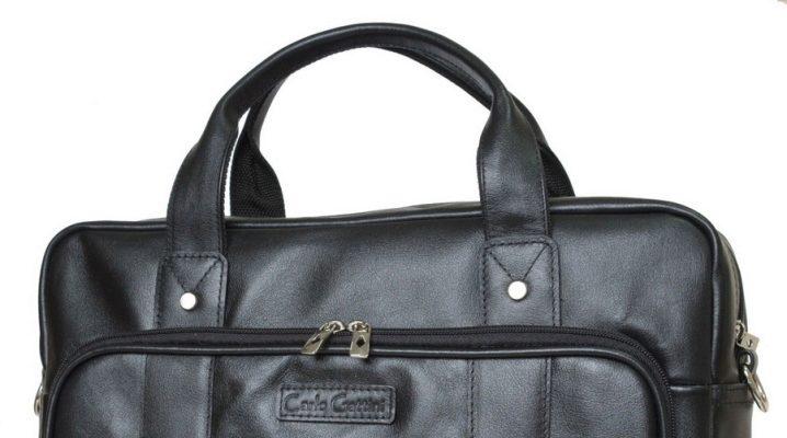 Модная кожаная сумка для ноутбука для мужчин и женщин