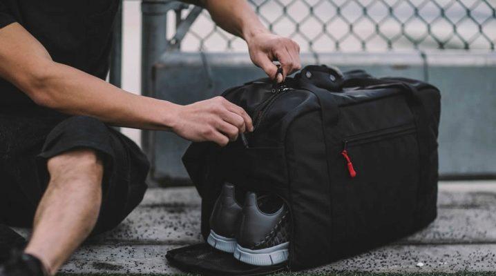 319b2b05 Мужские спортивные сумки (86 фото): для фитнеса, через плечо ...