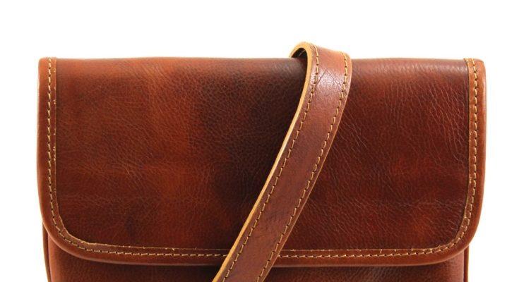 Модные мужские сумки через плечо из натуральной кожи