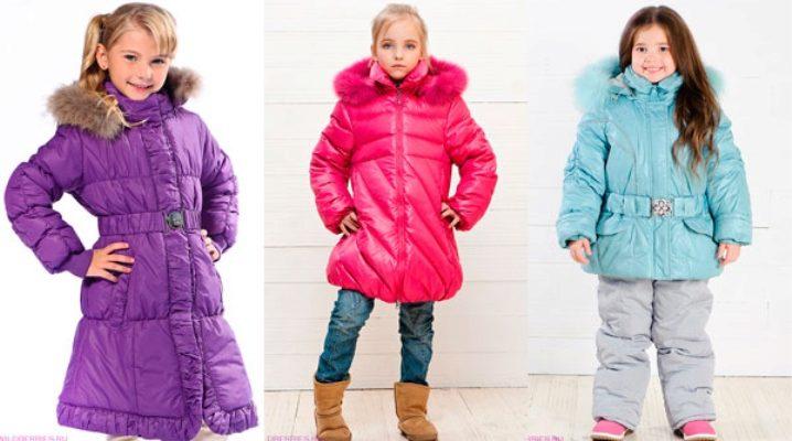 Модные зимние куртки для девочек