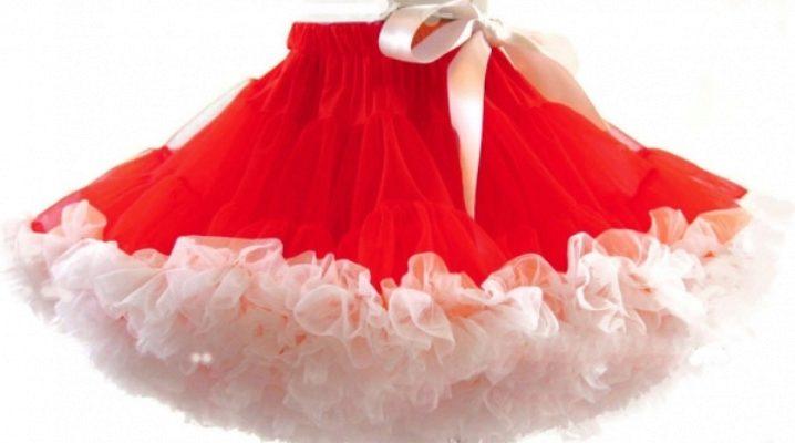 Пышные юбки для девочек
