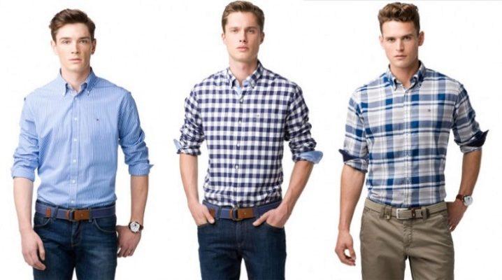 Рубашка с брюками – стильная классика