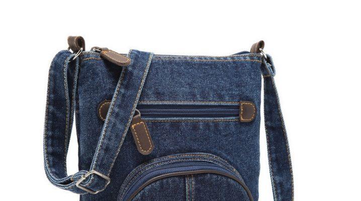 Стильные женские джинсовые сумки