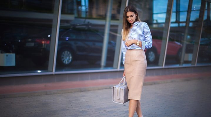 Юбка-карандаш – модные тенденции 2018