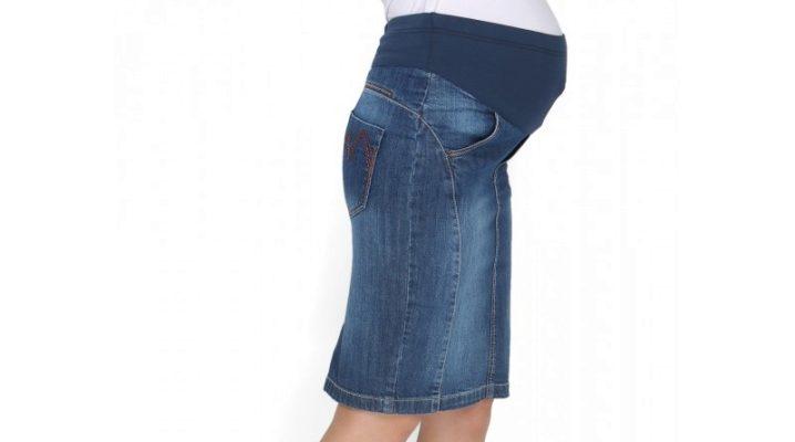 Юбки для беременных – будьте стильной мамой!