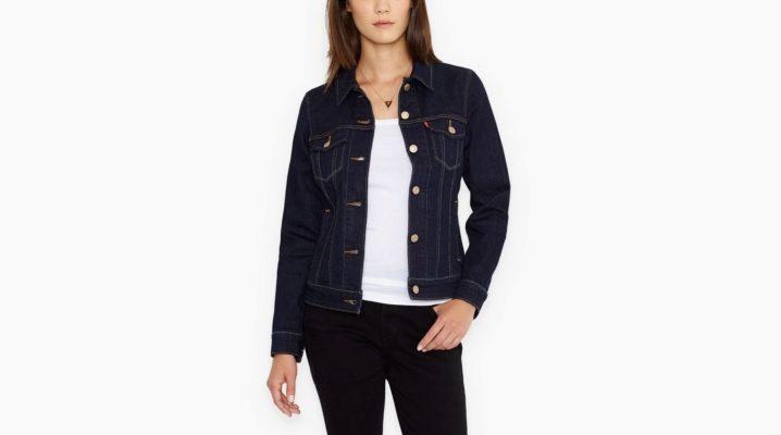 Женская джинсовая куртка Levis