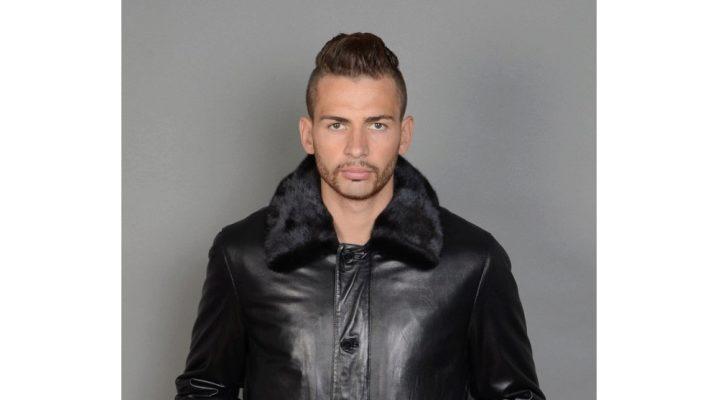 Зимние кожаные мужские куртки – тренд этого года