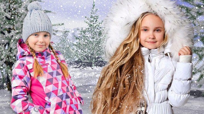 Модные пуховики для девочек и подростков