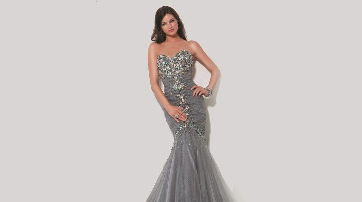 Платье-рыбка - романтика в тренде