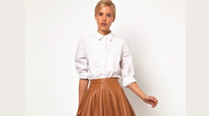 С чем носить расклешенную юбку?