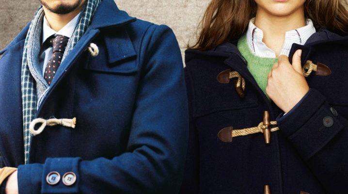 Английское пальто дафлкот