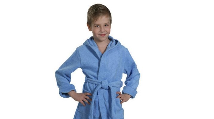 Детский халат для бассейна