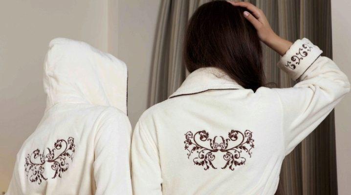 Халат с вышивкой - подчеркните индивидуальность