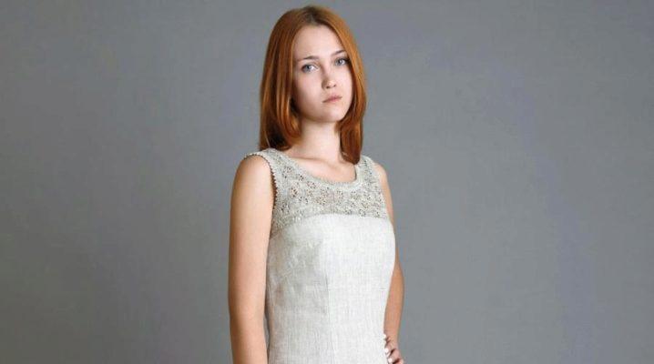 77fdbae89db Льняные сарафаны и платья (50 фото)  из Италии и Турции