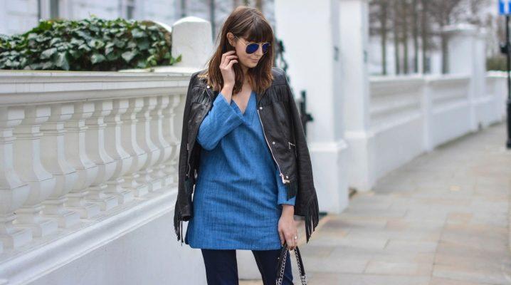 Женские джинсовые туники – тренд сезона!