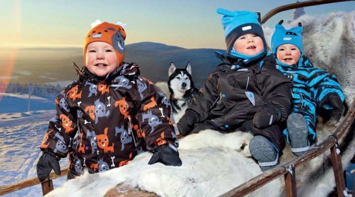 Финские комбинезоны для детей на зиму - обзор лучших производителей