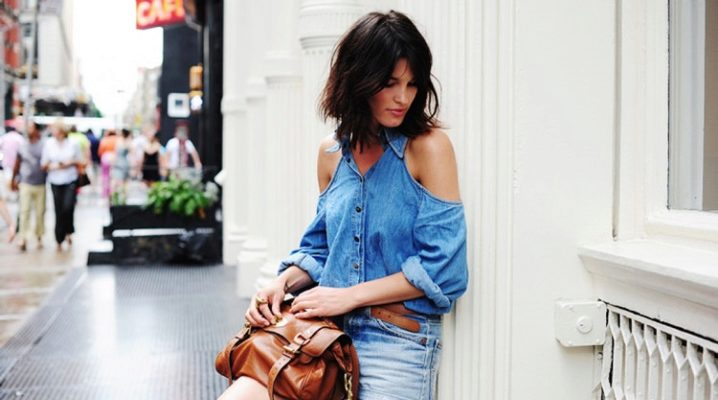 Модные женские джинсовые шорты 2018 года