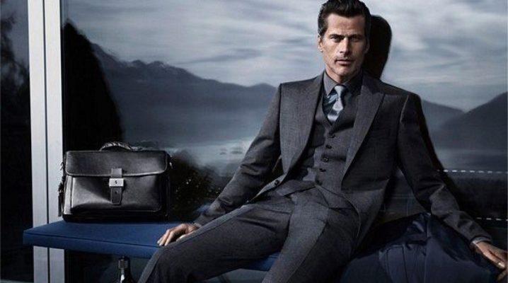 Мужские костюмы Hugo Boss