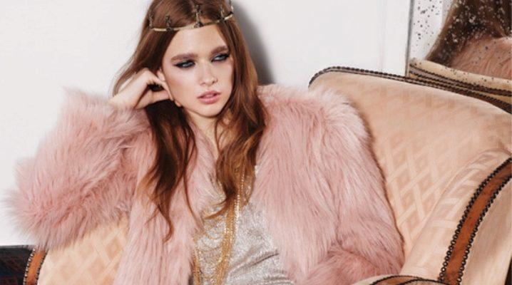Розовая шуба - микс  женственности, шика и гламура