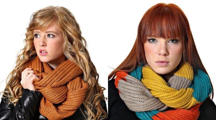 Как красиво и правильно завязать шарф?