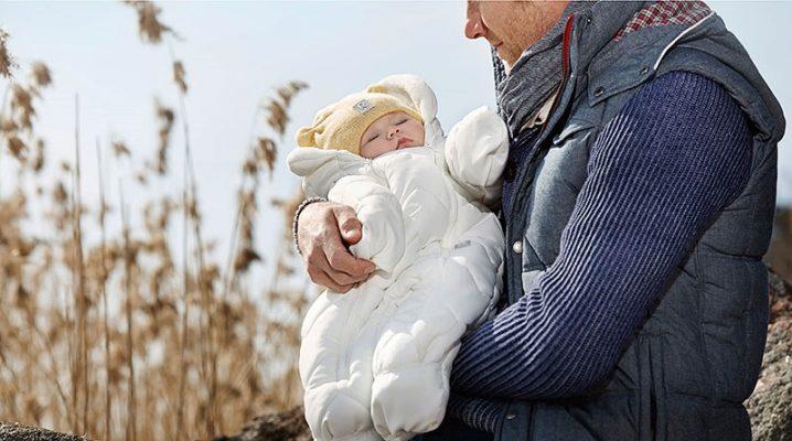 Комбинезон-трансформер для новорожденных