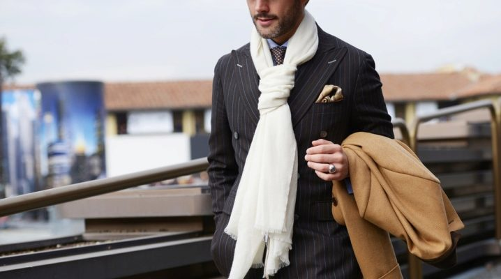 Мужские шарфы – модные тенденции 2019 года