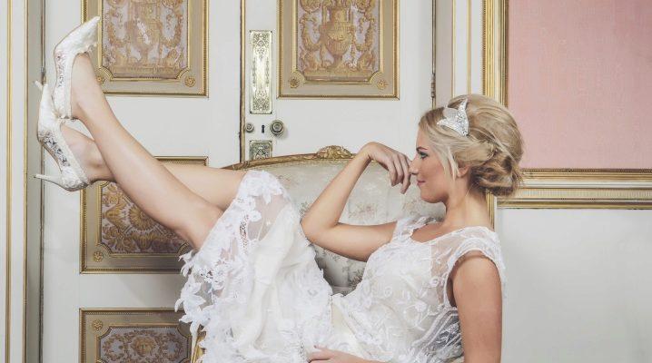 Свадебные туфли – модные тенденции 2018-2019
